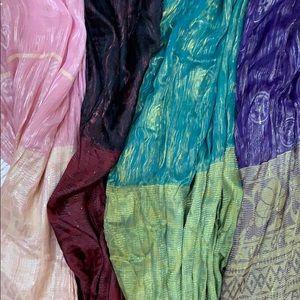 Beautiful Unique 100% Silk Scarfs